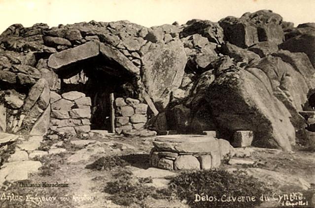Το σπήλαιο του Κύνθου