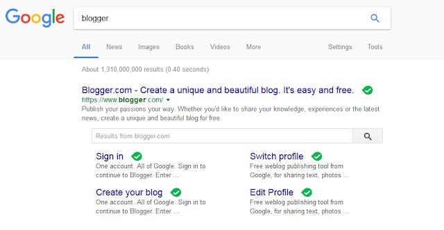Situs blogger