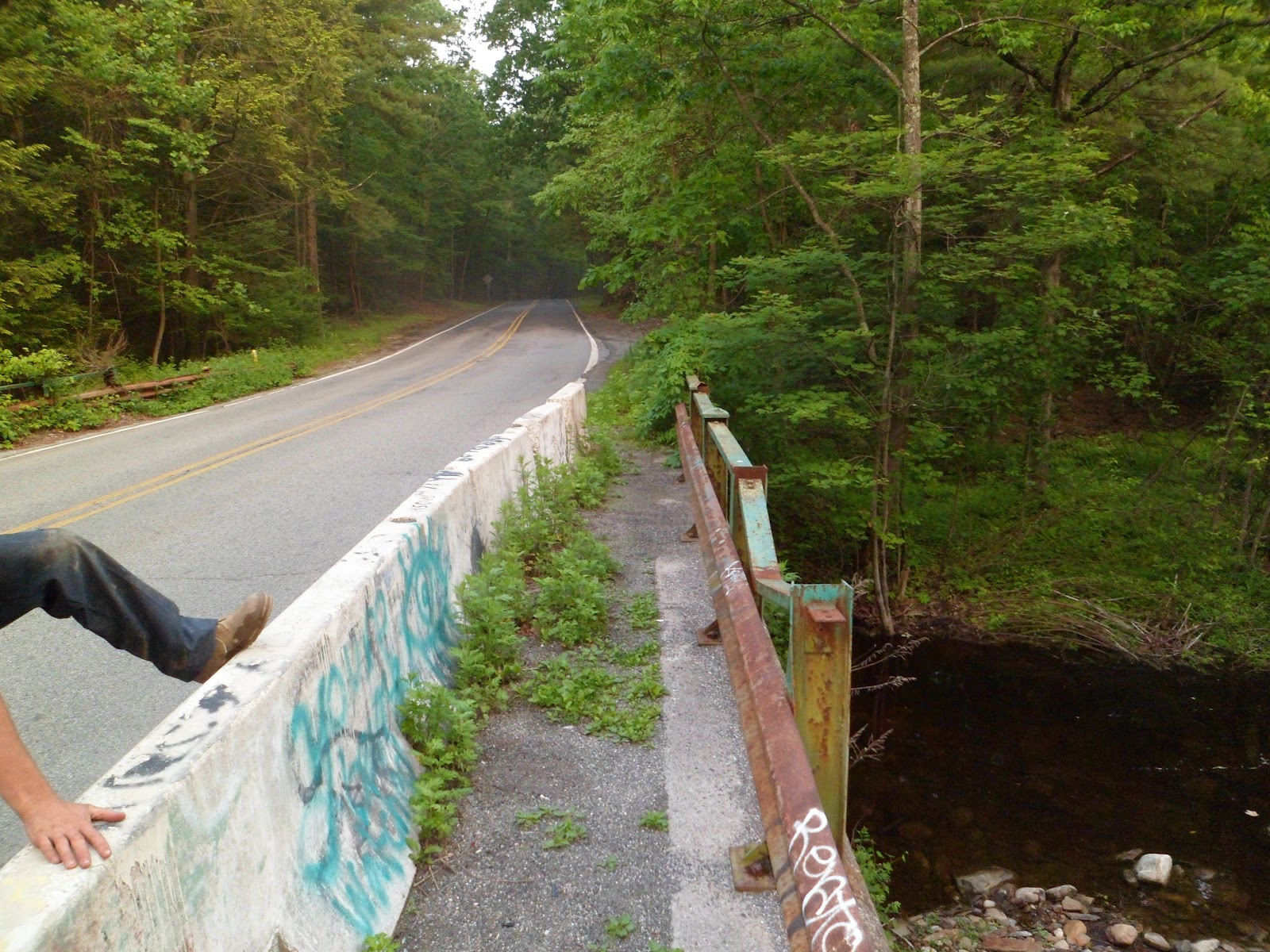 Forgotten Stories Clinton Road West Milford