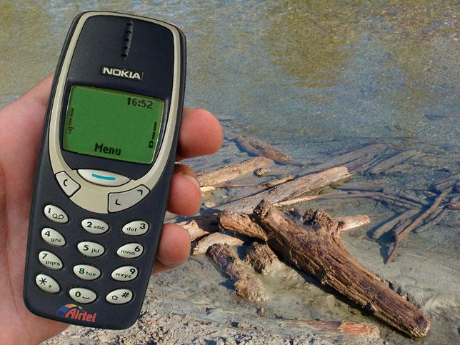 El indestructible móvil, recién rescatado del Lago de Mendillorri