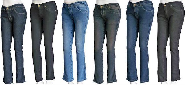 Fashion Wanita Mudah Padu-padan Jeans dengan Sepatu