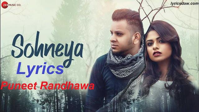 Dil nahin lagda mera lyrics Puneet Randhawa