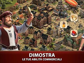 Gioco strategico per smartphone Android: Forge of Empires
