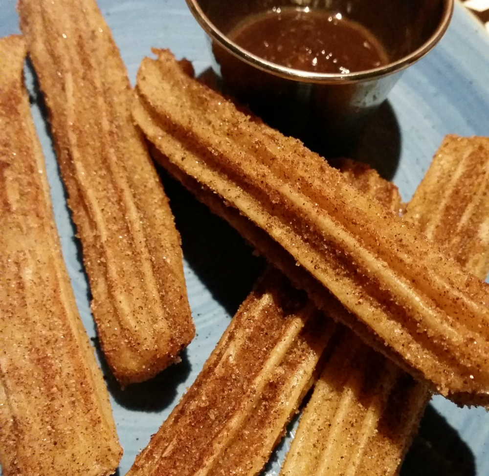 Giraffe Review: Churros