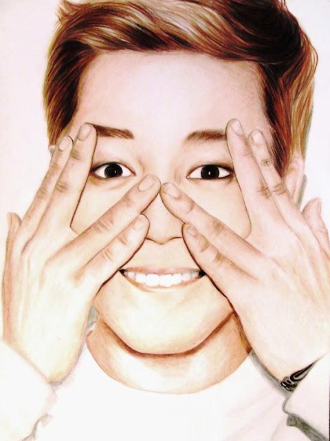 Kpop Fan Art Vilca Speed Drawing Jin Bts