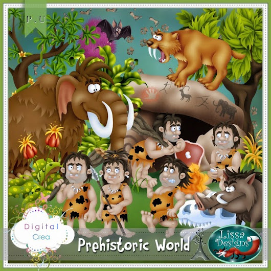 "Lissa Designs ""Prehistoric World"""