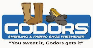 godors shoe refresher spray label