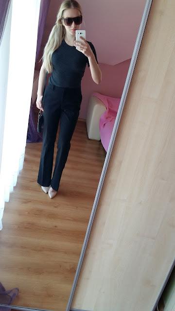 Jak nosić szerokie garniturowe spodnie? Jaki wybrać rozmiar? Czy nie poszerzą mnie ?