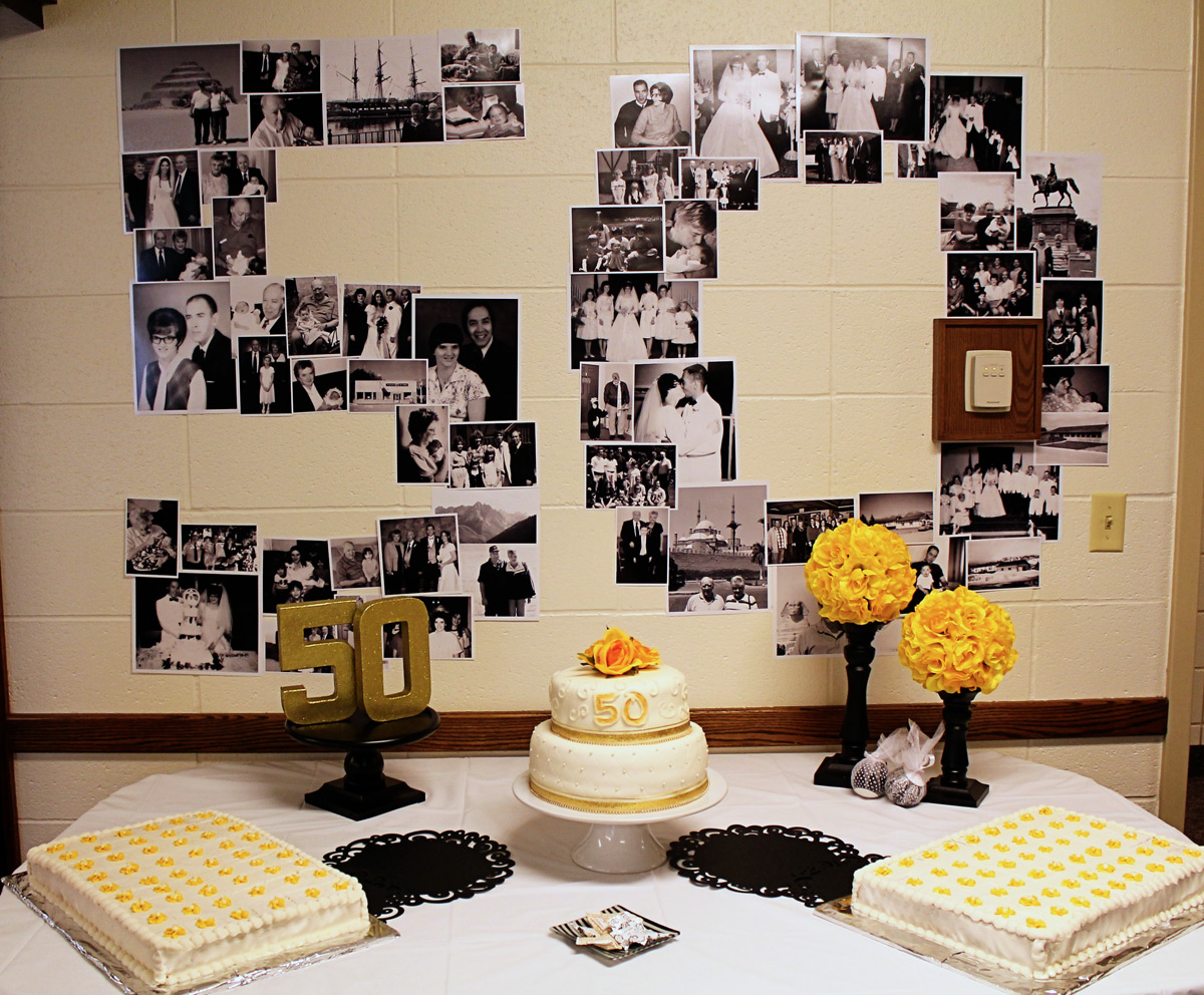 Scraps Of Shirlee: Dad And Mom's 50th Anniversary