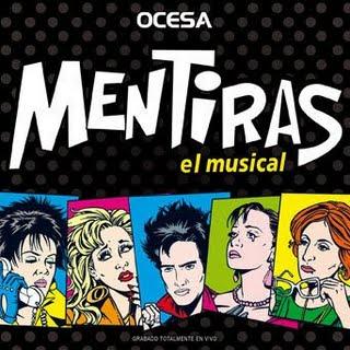 Poster Mentiras el musical