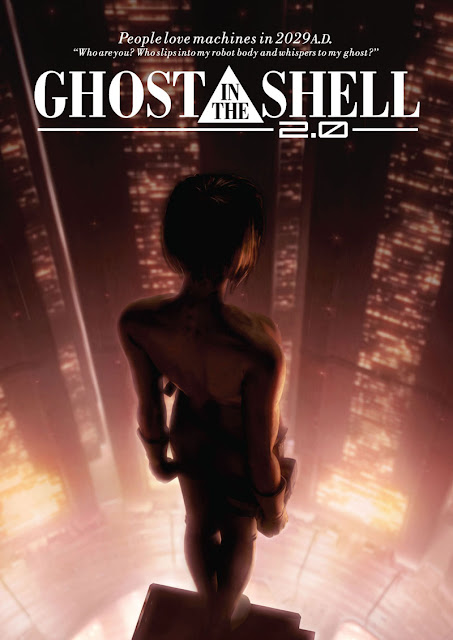 Ghost in the Shell 2.0 poster recensione