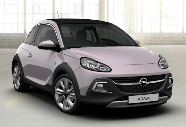 opel adam rose