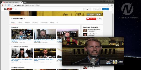 كيفية-مشاهدة-مقطع-فيديو-علي-اليوتيوب-في-نافذة-عائمة