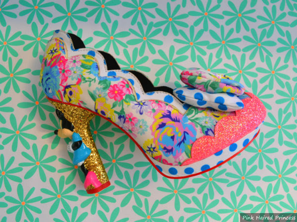irregular choice disney minnie mouse shoe