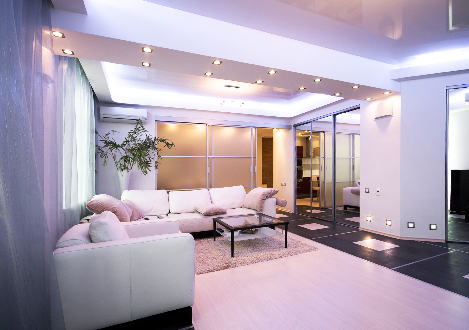 wohnzimmer beleuchtung led - Home Creation