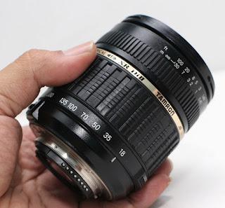 Sapu Jagat Untuk Nikon - Tamron 18-200 Hrg 1.350