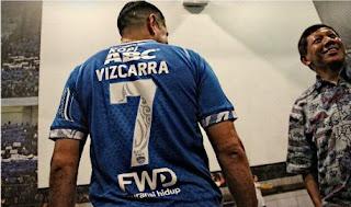 Esteban Vizcarra Kenakan Nomor Punggung 7 Milik Atep