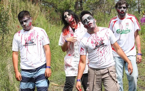Ubicación de Pandemia Zombie en el Bosque de San Juan de Aragon puertas para entrada