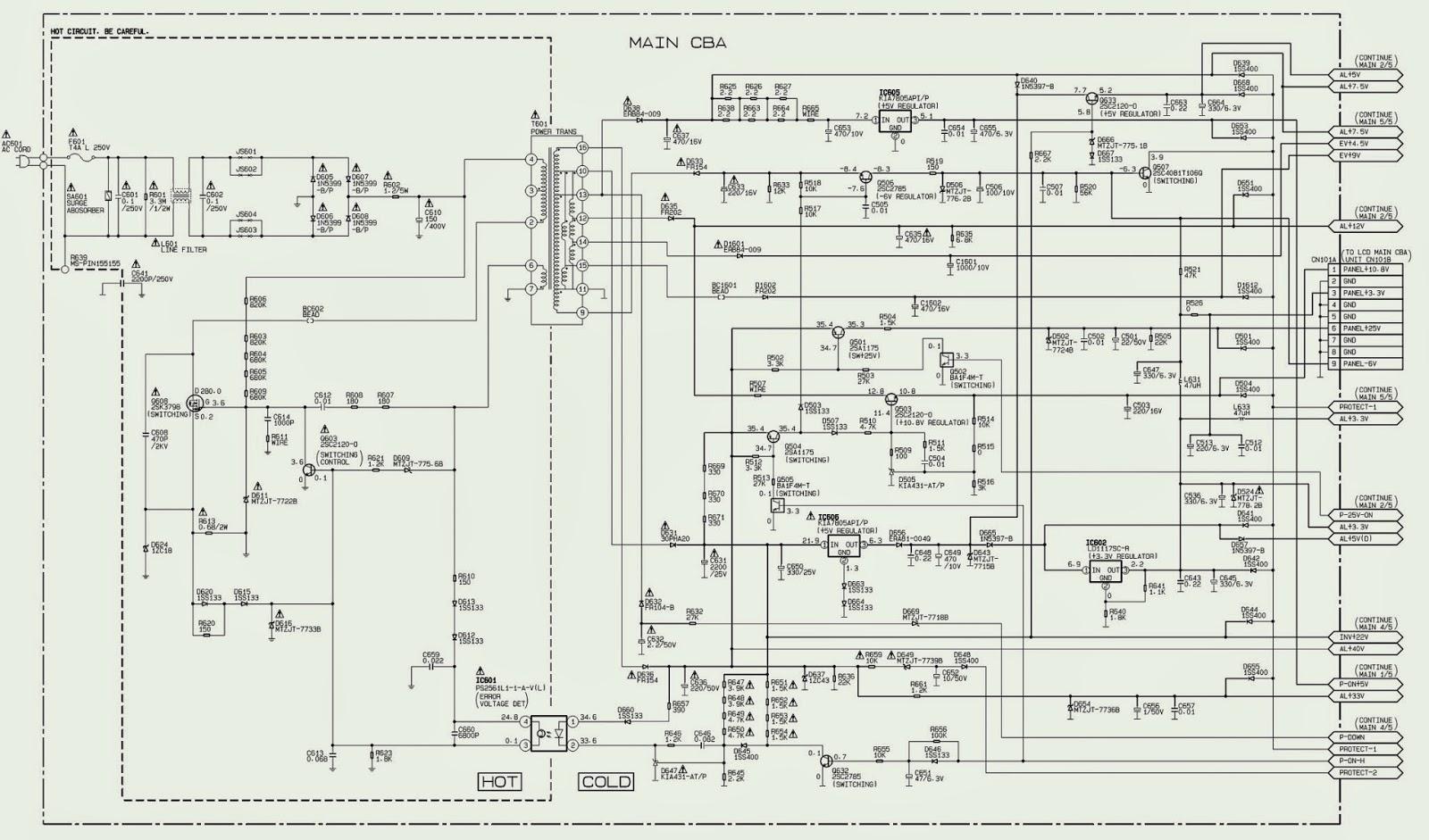 ELECTRONIC EQUIPMENT REPAIR CENTRE : FUNAI LDD-A2006
