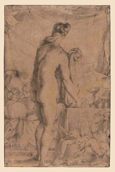 Mostra Jacopo Ligozzi Firenze - Allegoria della Lussuria, 1590