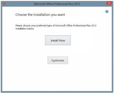 Cài đặt Office 2013
