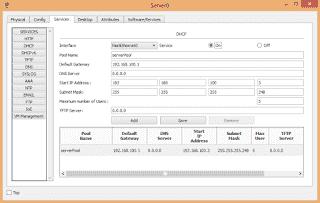 Konfigurasi DHCP Server dengan Cisco Packet Tracer