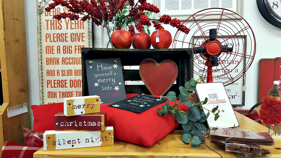 Christmas Interiors, Goals, Robert Gaults, Shop Ballymoney, The Style Guide Blog