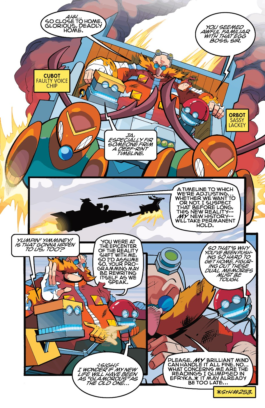 Read online Sonic The Hedgehog comic -  Issue #255 - 13