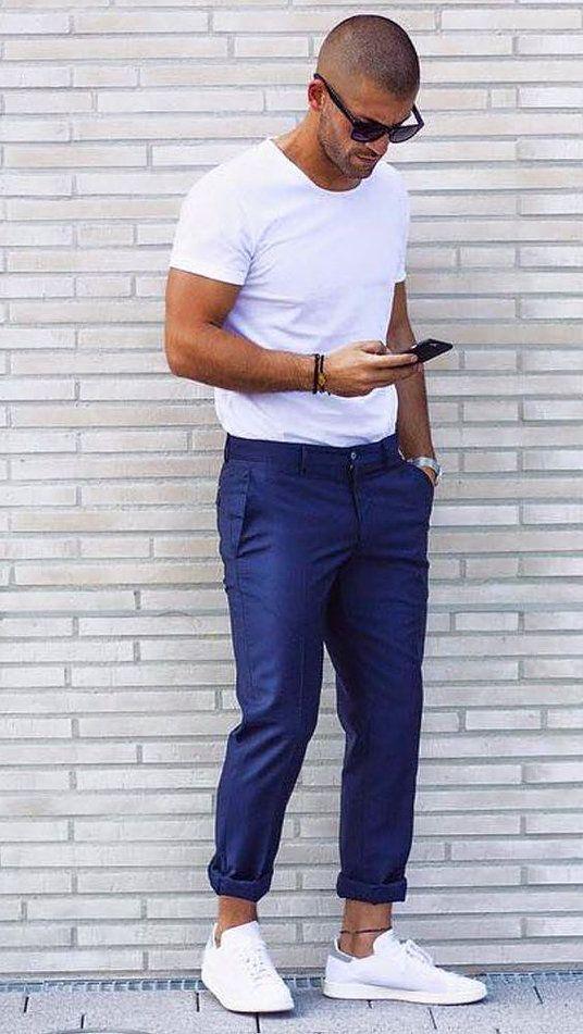Calça Cropped Masculina tendência 2018