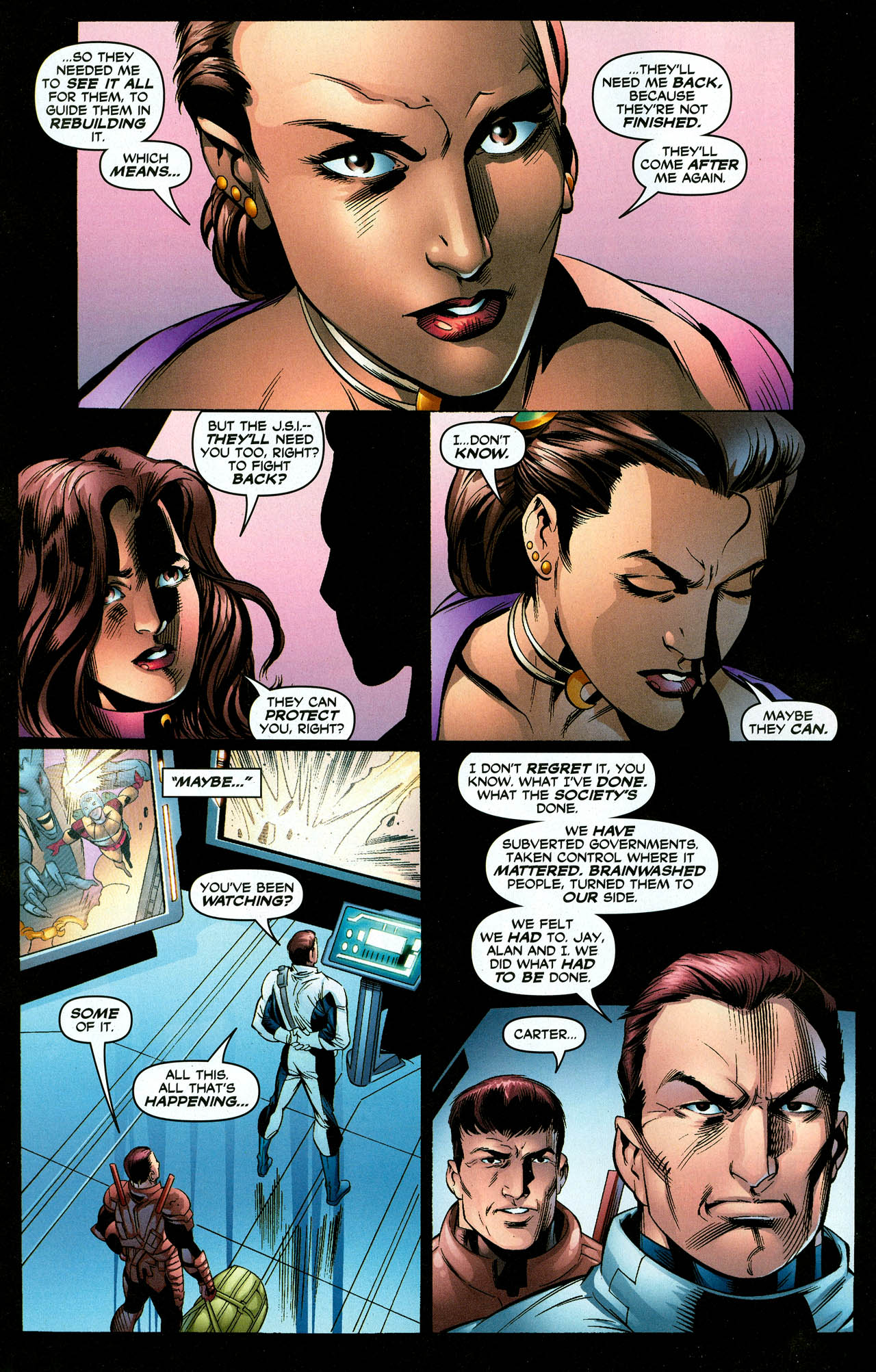 Read online Trinity (2008) comic -  Issue #27 - 15