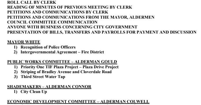 Council To Reconsider Fire District Vote Tonight