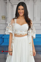 Telugu Actress Amyra Dastur Stills in White Skirt and Blouse at Anandi Indira Production LLP Production no 1 Opening  0132.JPG