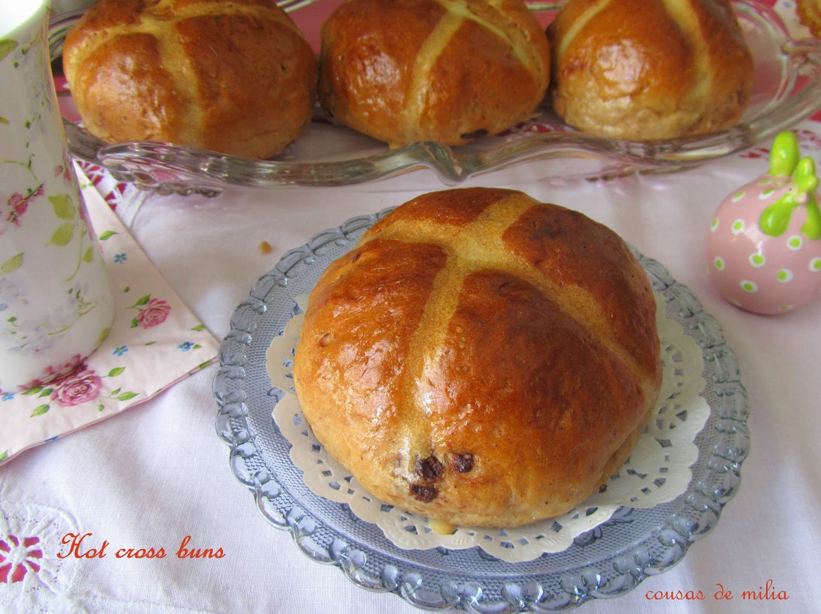 Hot Cross Buns - Panecillos de Pascua