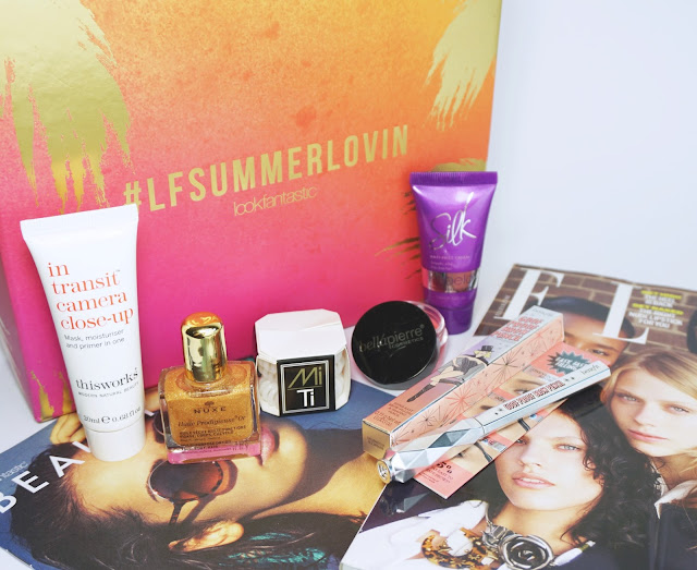 LookFantastic - Beauty Box (#LFSUMMERLOVIN - Juli 2016)