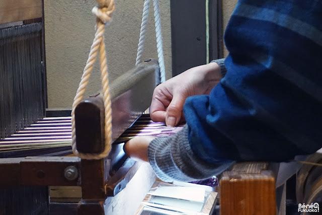 博多織、博多町家ふるさと館、福岡