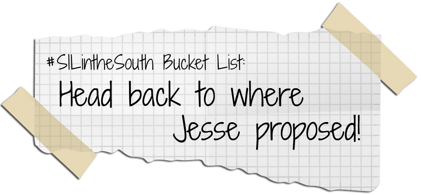 Head back to where Jesse proposed - Louisiana Summer Bucket List