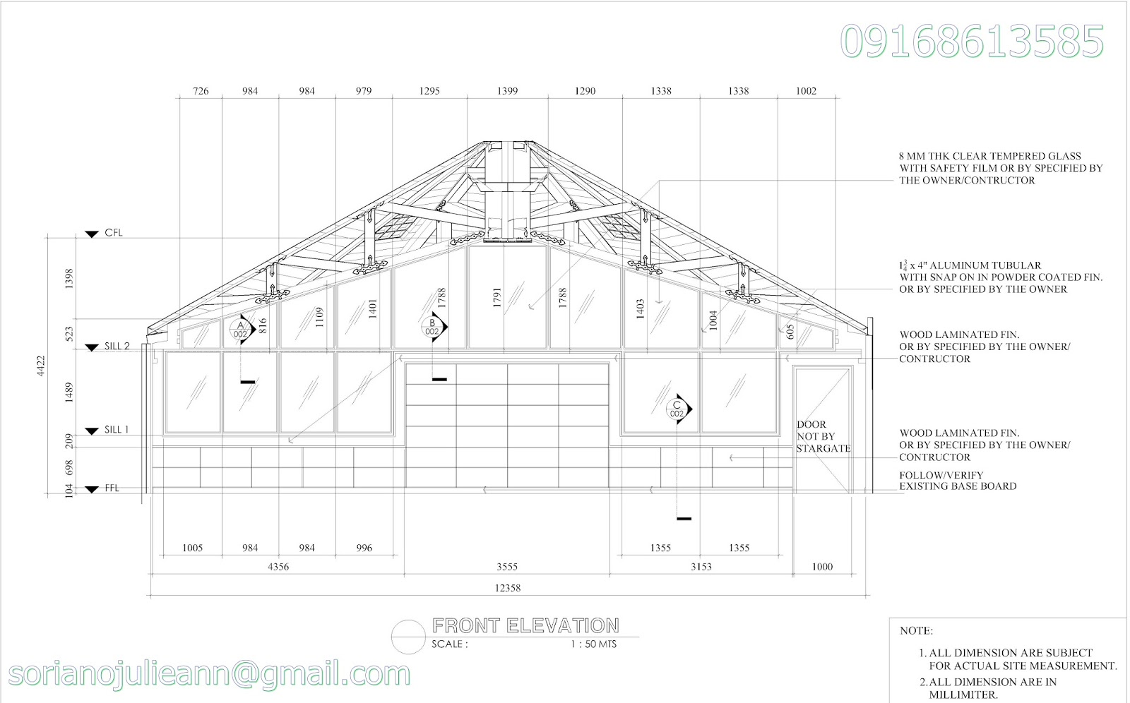 Front Elevation Layout : Ger s page d design floor plan layout