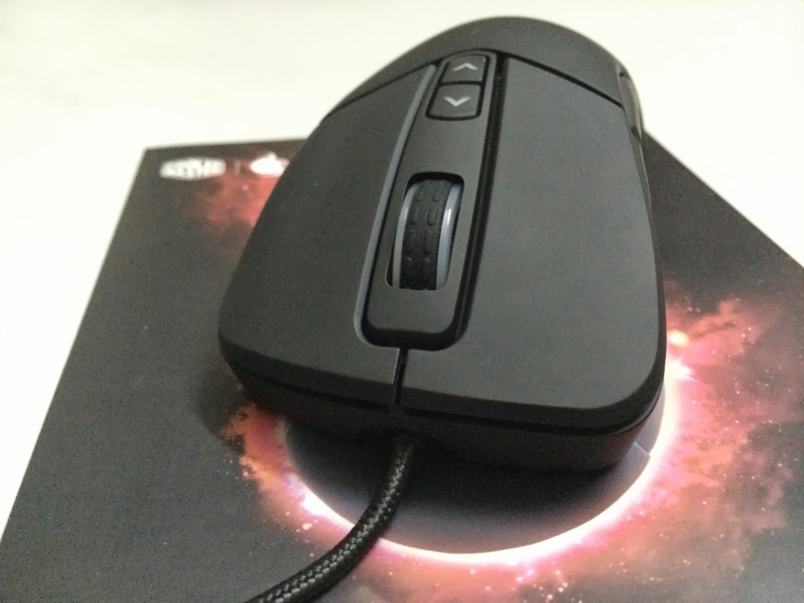A Sneak Preview On The CM Storm Mizar Laser Gaming Mice 3