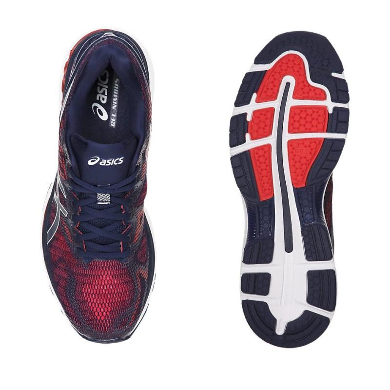 2b8ce86e24a3 The outsole of the GEL-Nimbus 20 uses the ASICS High Abrasion Rubber (AHAR)  material which is well-known for its durability. The Guidance Line  technology is ...