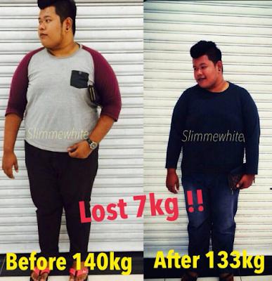 slimmewhite lost 7kg