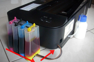 cara merawat printer canon infusan