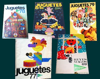 catálogo de juguetes de El corte Inglés