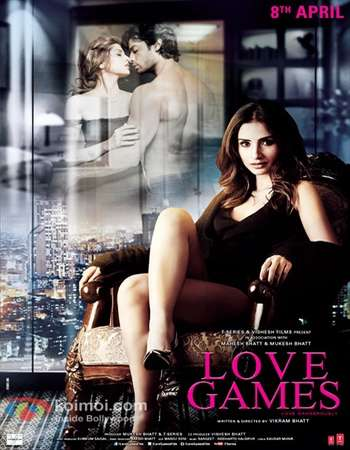 Poster Of Love Games 2016 Hindi 400MB DVDRip 720p ESubs HEVC Watch Online Free Download Worldfree4u