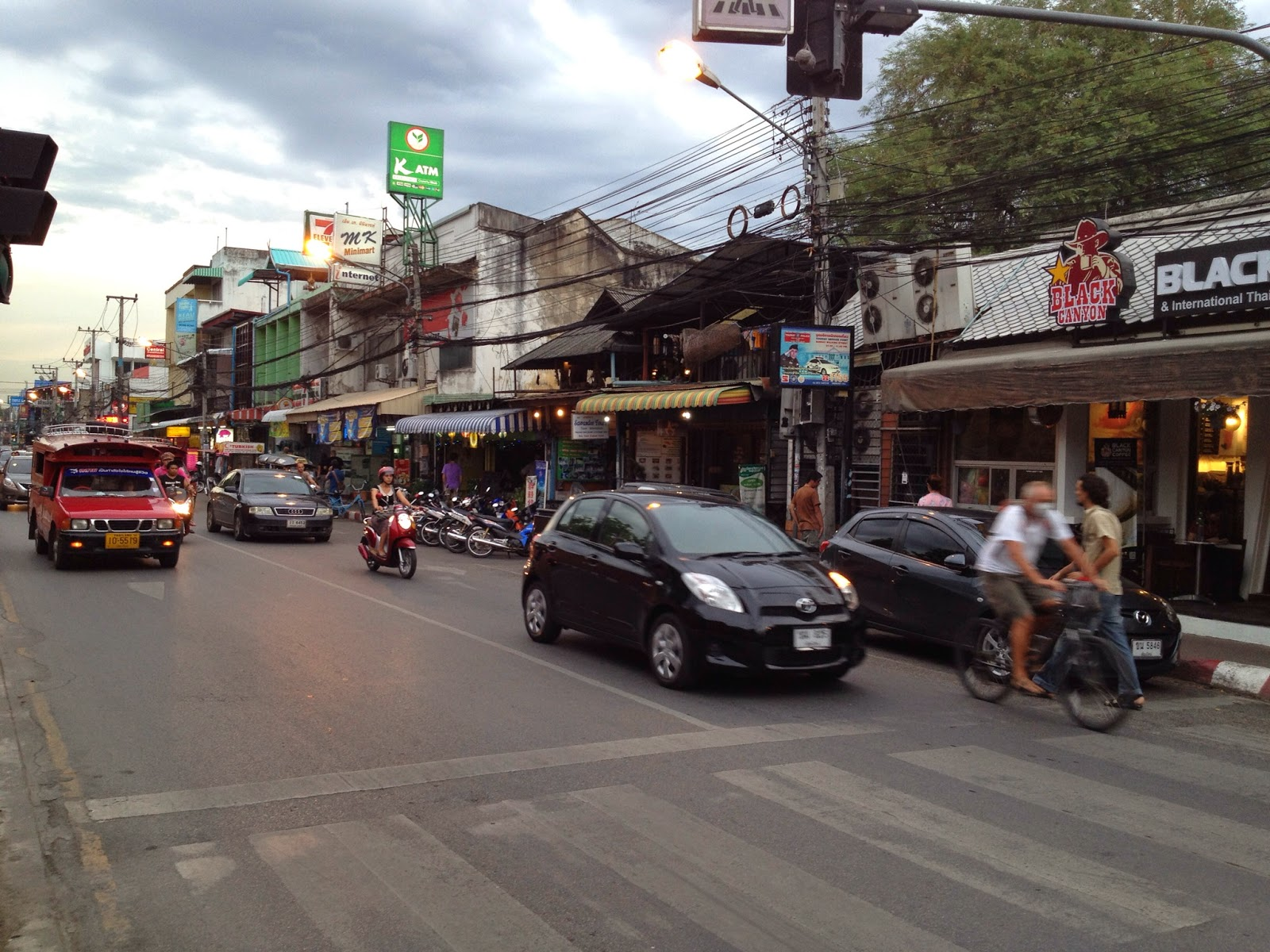 Chiang Mai - Streets inside the Old City