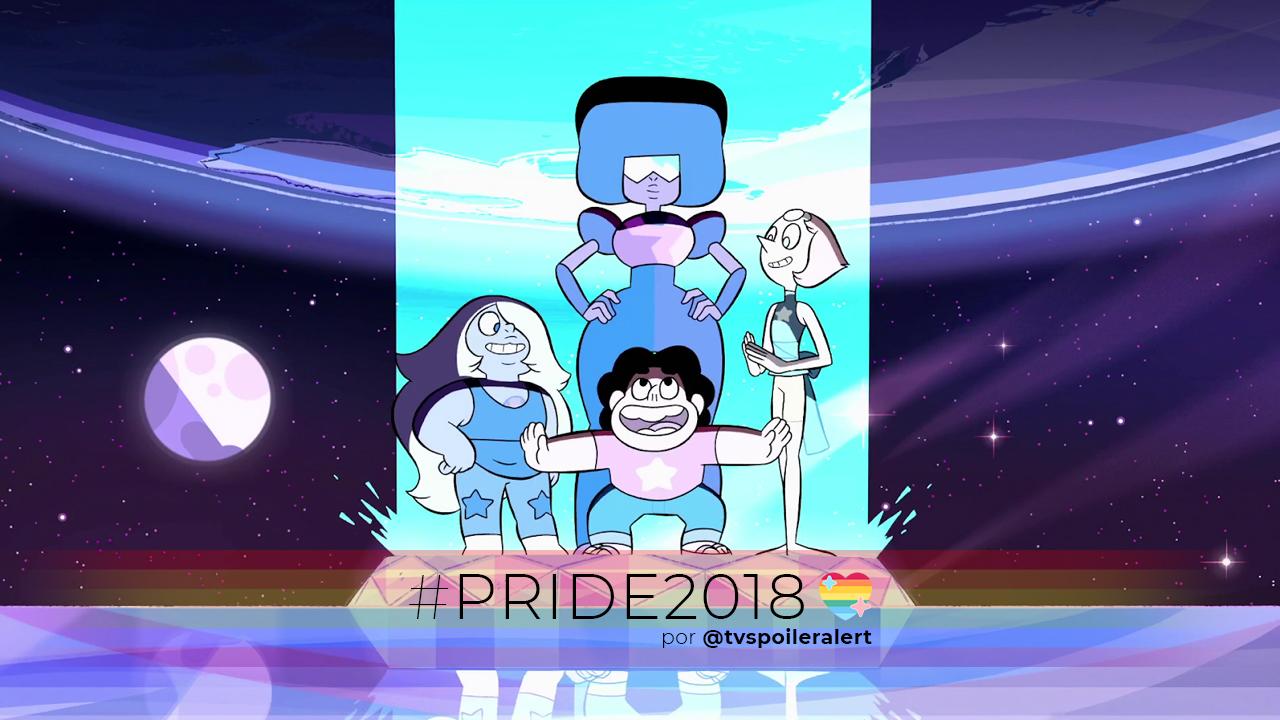 Steven Universe y las gemas de cristal serie de Cartoon Network