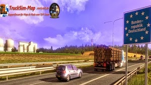 Truck Sim Map v4.1.0 - for 1.5.2 and DLC Going East