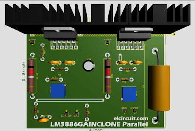 Prallel Gainclone LM3886