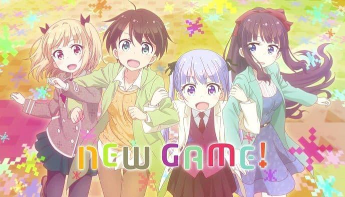 جميع حلقات انمي New Game! S1 لعبة جديدة! الموسم الأول مترجم على عدة سرفرات للتحميل والمشاهدة المباشرة أون لاين جودة عالية HD