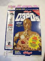 Kellogg's C-3PO's Cereal Box Rebel Rocket