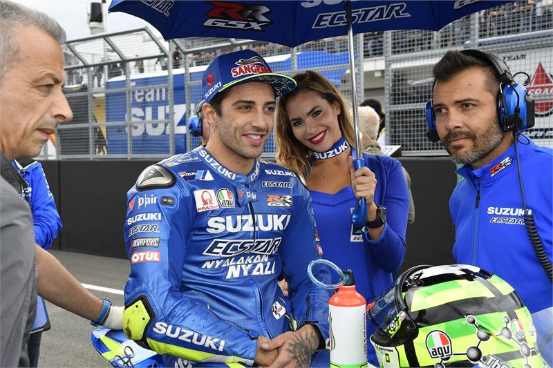 Andrea Iannone Suzuki